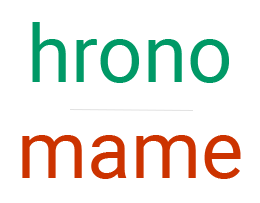 hronomame logo 1
