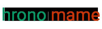 hronomame logo horizontal