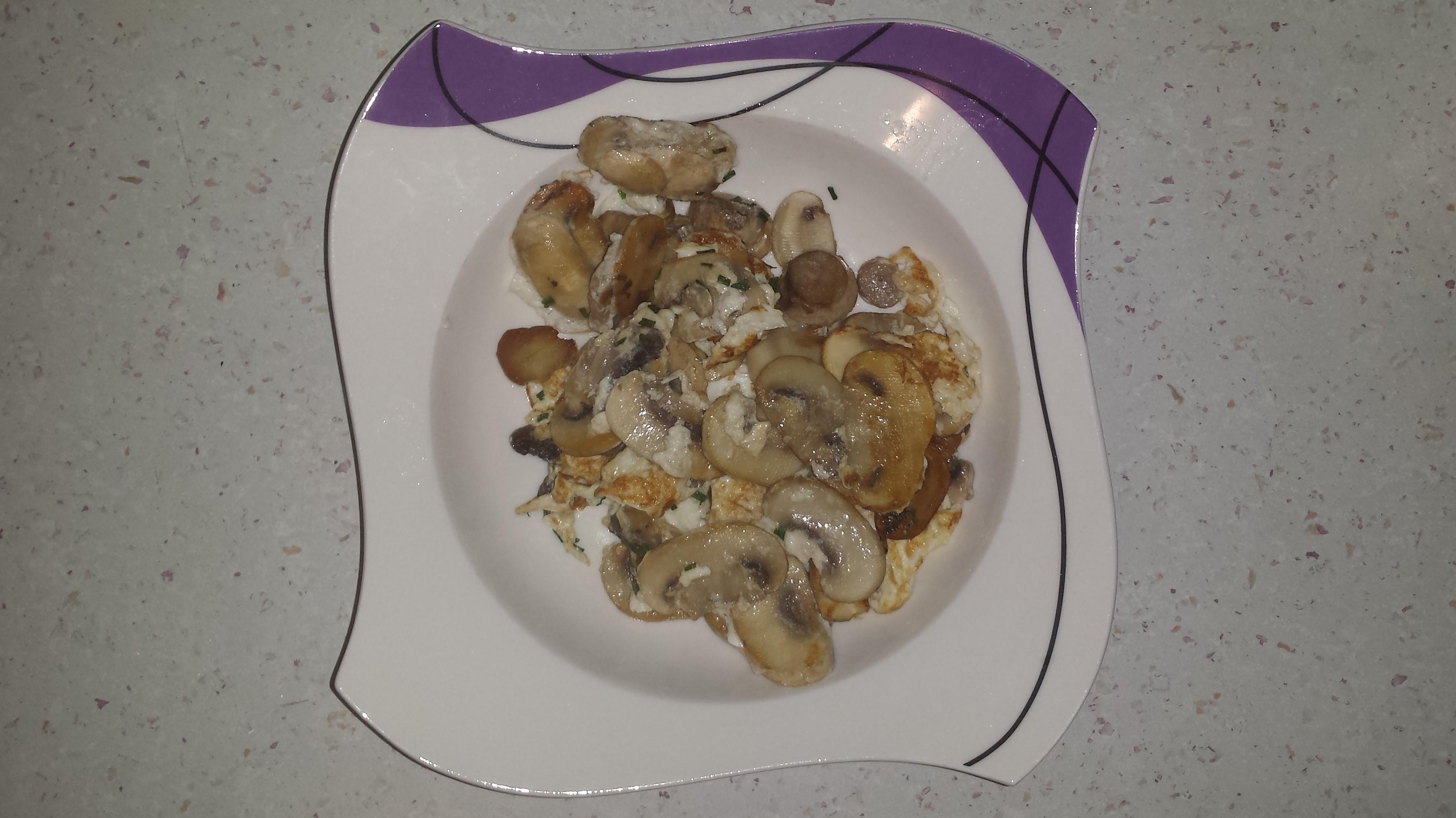 omlet sa pecurkama (1)